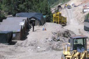 Деятельность горнодобывающей компании в Солтон-Сары временно приостановлена