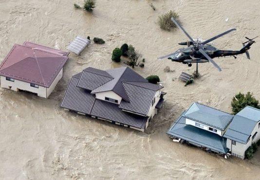 На Японию обрушился тайфун. Возможно, сильнейший за полвека