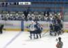 Казахстанские и российские хоккеисты устроили массовую драку