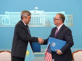 CША и Казахстан подписали договор в поддержку рынка электроэнергии Центральной Азии