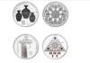 Нацбанк Кыргызстана выпустил серебряные монеты, посвященные эпохе Кыргызского каганата