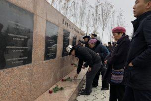 Члены партии СДПК почтили память жертв политических репрессий (фоторепортаж)