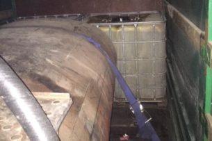 В Таласской области задержали 6 тонн незаконного бензина
