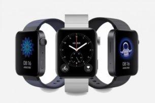 Xiaomi показала первые «умные» часы Mi Watch