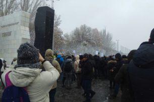 Участники митинга #ReАкция в Бишкеке не оставили после себя ни грамма мусора