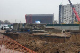 При строительстве линии метро в Ташкенте произошел обвал грунта. Есть жертвы