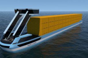 Электрические «корабли Тесла» смогут перевозить до 280 контейнеров