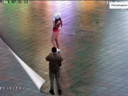 Откровенный танец полуголой девушки взбудоражил город