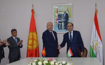 Кыргызстан и Таджикистан подписали протокол по итогам обсуждения приграничных вопросов