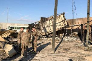 11 военных США пострадали при обстреле баз со стороны Ирана