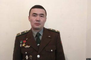 Умер полковник Аланов, заявлявший о коррупции в Пограничной службе Кыргызстана