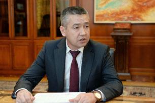 Экс-глава МЧС назначен полпредом правительства в Джалал-Абадской области