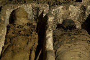 Воры помогли археологам найти хранилище мумий