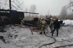 При пожаре в Томской области погибли десять граждан Узбекистана