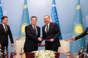 Узбекистан и Казахстан подписали соглашения на полмиллиарда долларов