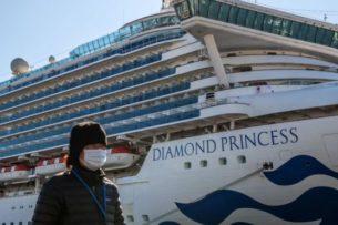 Коронавирус на «Даймонд Принцесс» жил 17 дней после ухода пассажиров