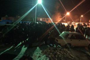 На востоке Казахстана жители сел вышли на улицы против «размещения больных коронавирусом»