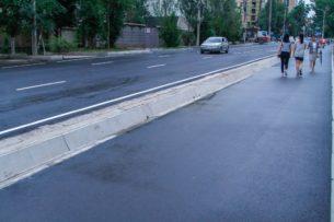 В 2020 году будут отремонтированы тротуары на 25 улицах Бишкека