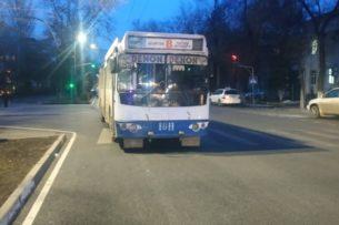 ДТП с троллейбусом в Бишкеке: виноваты наушники
