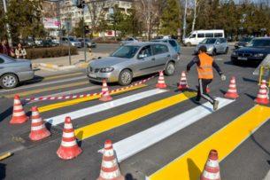 Мэрия Бишкека: Дорожная разметка соответствует мировым стандартам