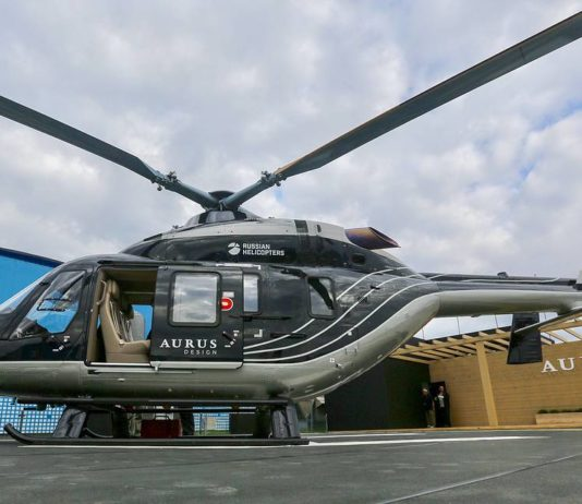Воздушная версия лимузина российского президента