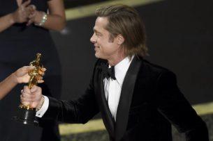 Брэд Питт получил «Оскар» как лучший актер второго плана