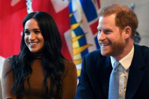 Власти Канады отказались охранять принца Гарри и Меган Маркл