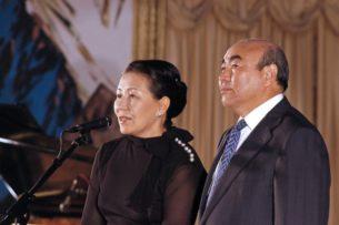 Майрам Акаева не пересекала границу Кыргызстана