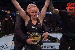 UFC 247: Валентина Шевченко третий раз защитила свой чемпионский титул. Выиграла бой техническим нокаутом