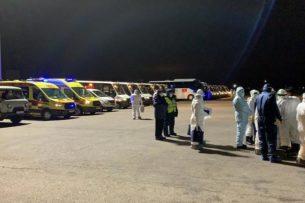В Алматы прибыл последний рейс из Китая с гражданами Казахстана и Кыргызстана на борту. 40 кыргызстанцев отправлены домой
