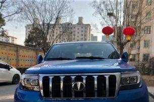 В сети показали китайский автомобиль, который является точной копией Toyota Land Cruiser 200