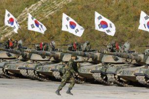 В Южной Корее отправили на карантин 7,9 тысячи военных из-за коронавируса