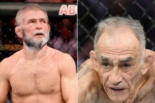 Глава UFC Уайт выложил фото «старых» Хабиба и Фергюсона. Пошутил о возможном очередном переносе их боя