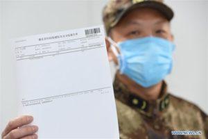 В Китае 100-летний мужчина с болезнью Альцгеймера вылечился от коронавируса