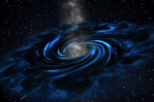 Гипотеза: три орбитальные черные дыры смогут изменить направление движения времени