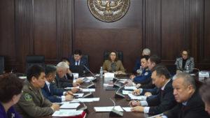 В настоящее время проходит совещание Республиканского штаба по предупреждению коронавируса