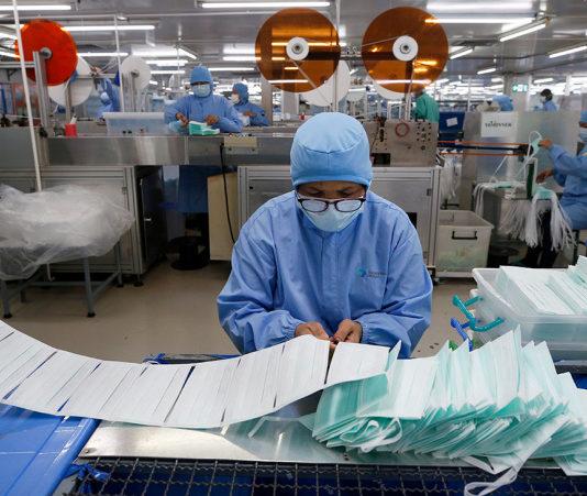 В Узбекистане создают госрезерв медицинских масок