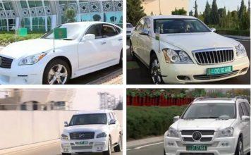 Аппарат президента Туркменистана распродает бронированные автомобили