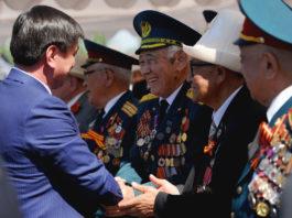 Министерства и ведомства КР взяли шефство над ветеранами Великой Отечественной войны