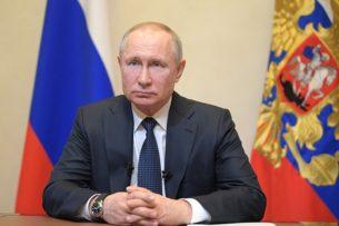 Путин: Россия без жалости и тревоги не может смотреть на события в Кыргызстане