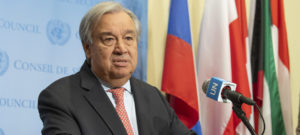 Генсек ООН призвал отказаться от войн перед лицом эпидемии