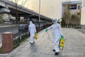 Узбекистан борется с коронавирусом