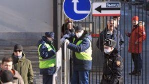 Москву могут полностью закрыть на карантин
