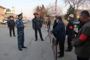 На 27 марта 2020 года за нарушения комендантского часа в Кыргызстане задержан 241 человек