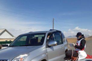 В Нарынской области дезинфицируется каждая машина