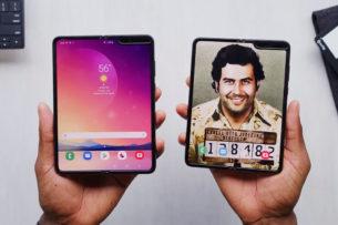 «Лучший телефон в мире» от брата Пабло Эскобара оказался Samsung Galaxy Fold в золотой фольге