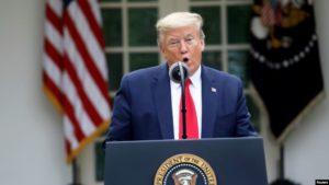 Трамп объявил о временном прекращении финансирования ВОЗ