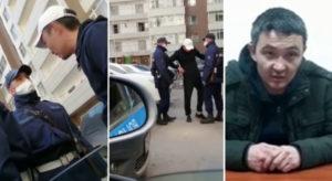 Житель Нур-Султана покусал полицейского