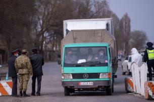 По Бишкеку поступило 13043 заявки на получение пропусков. Большинству отказано