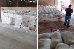 300 тонн муки под видом цемента пытались вывезти из Казахстана в Кыргызстан